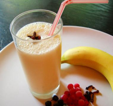 """Молочный коктейль """"Банановый рай"""""""