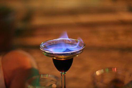 коктейль Огненный холод