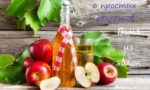 Вино из яблок в домашних условиях: рецепт пошагово с фотографиями