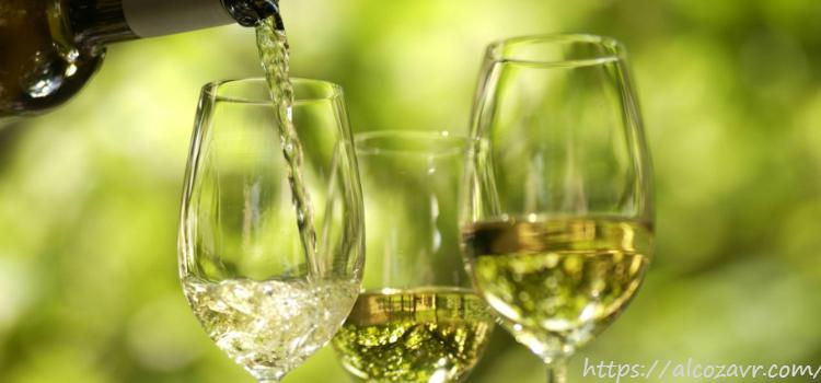 Употребление белого вина