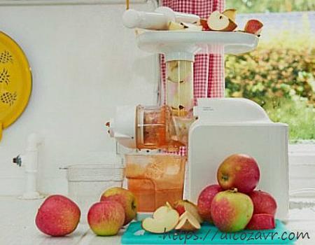 Получение сока для яблочного вина