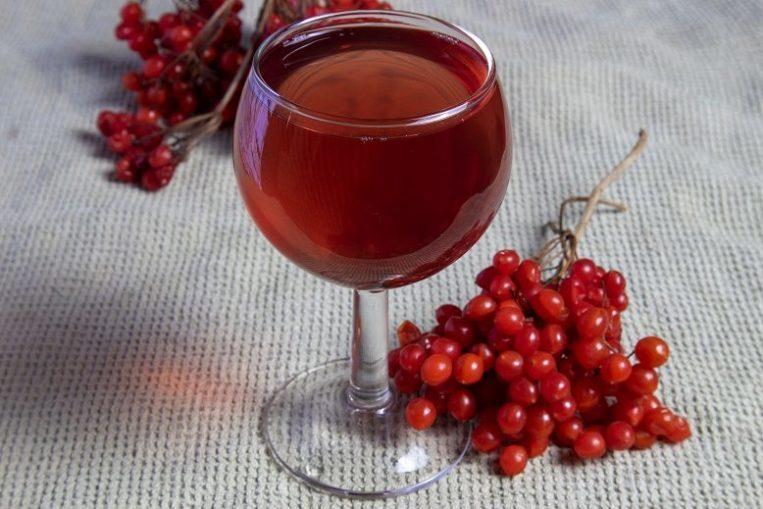 вино из калины