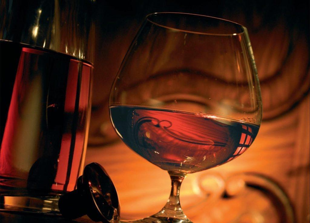 Самогон из виноградного вина