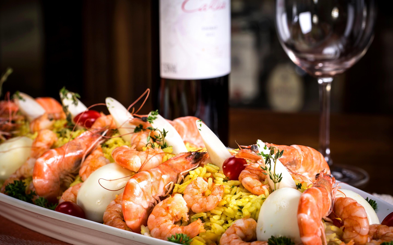 вино к морепродуктам