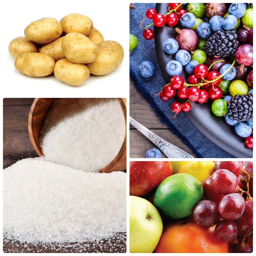 Ингредиенты для самогона