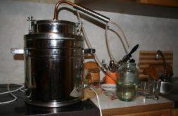 Как варить самогон в самогонном аппарате фото классический самогонный аппарат