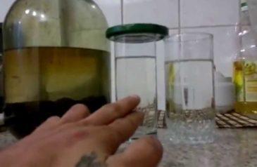 Очищение самогона в домашних условиях
