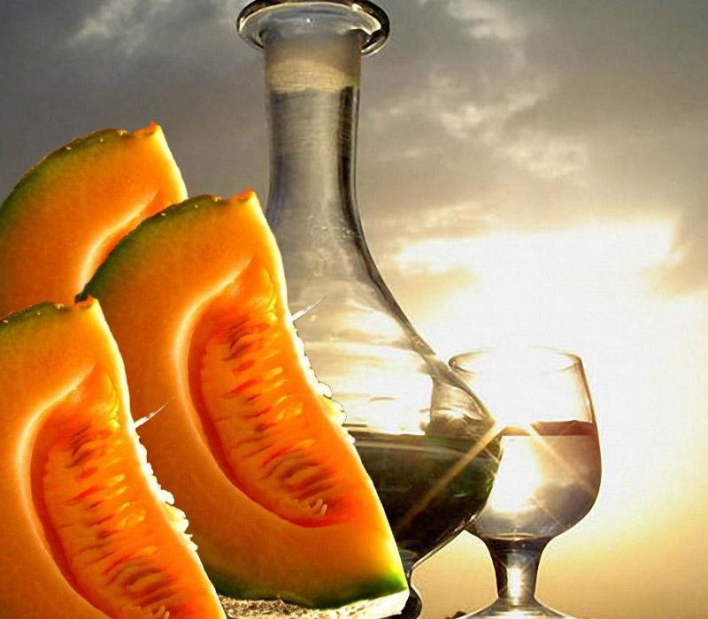 Дынная водка настойка на спирту