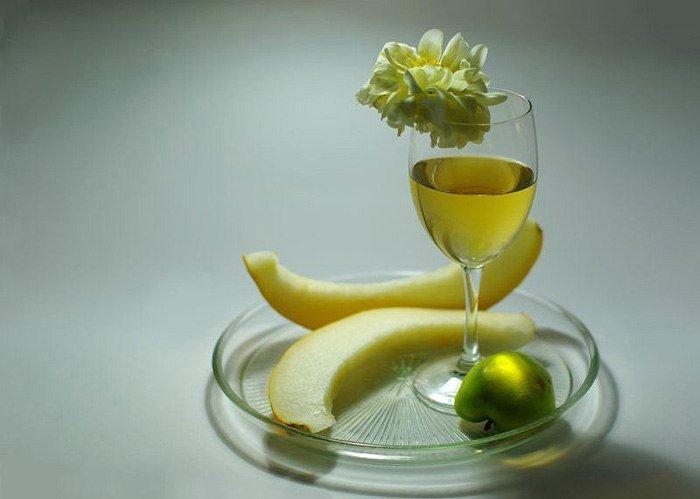 Ингредиенты для настойки из дыни