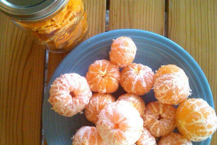 Настойка на мандаринах