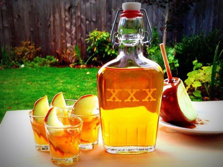 Приготовление яблочной настойки