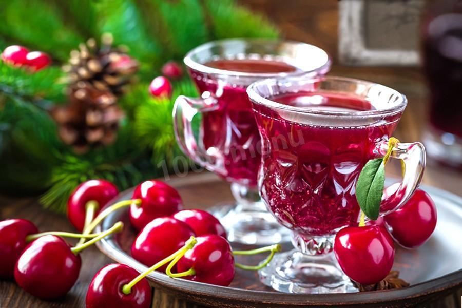 вишневая наливка на спирту