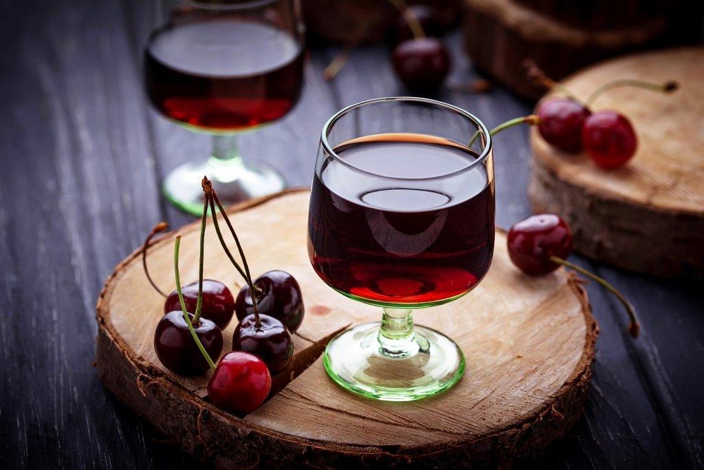 Вишневая настойка без спирта