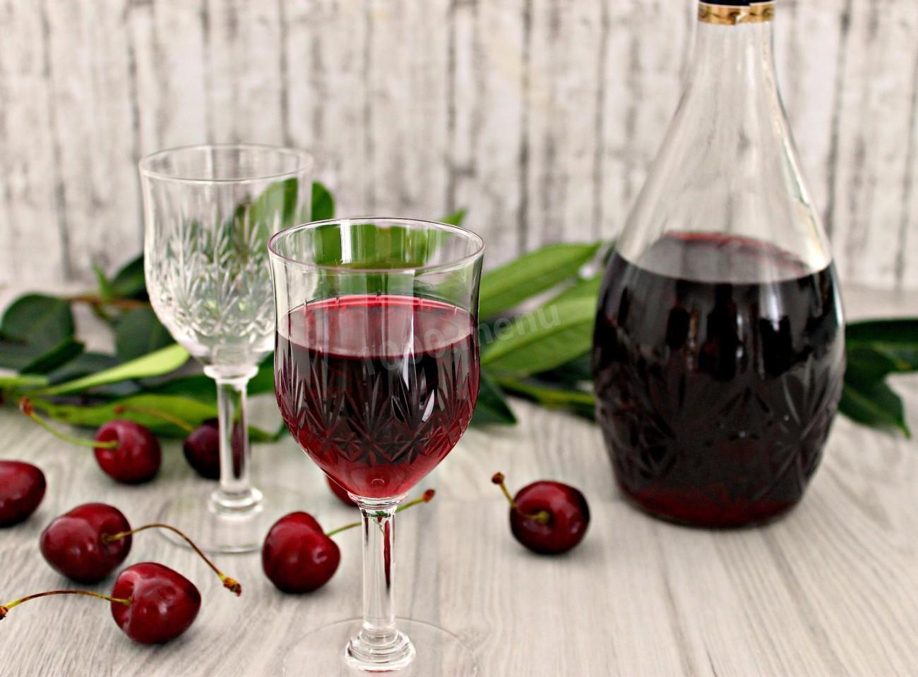 Приготовление вишневой наливки без спирта