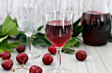 Приготовление вишневой настойки на водке