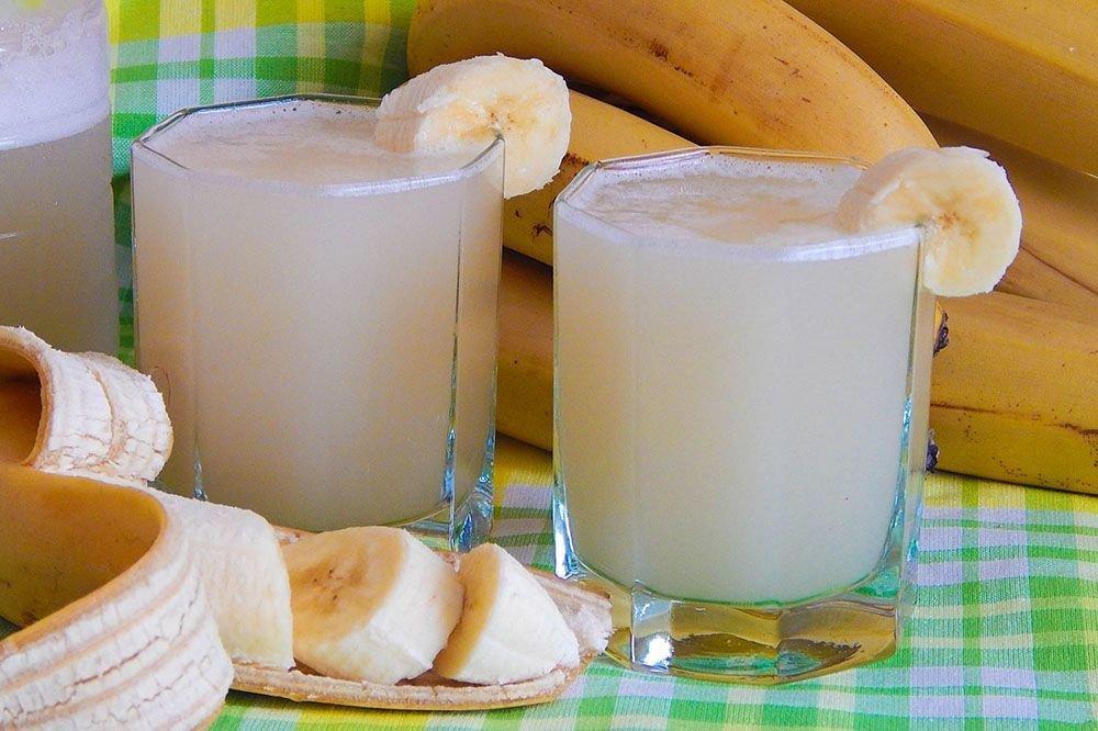 Как готовится банановая настойка?