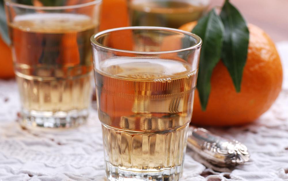 Приготовление апельсиновой настойки