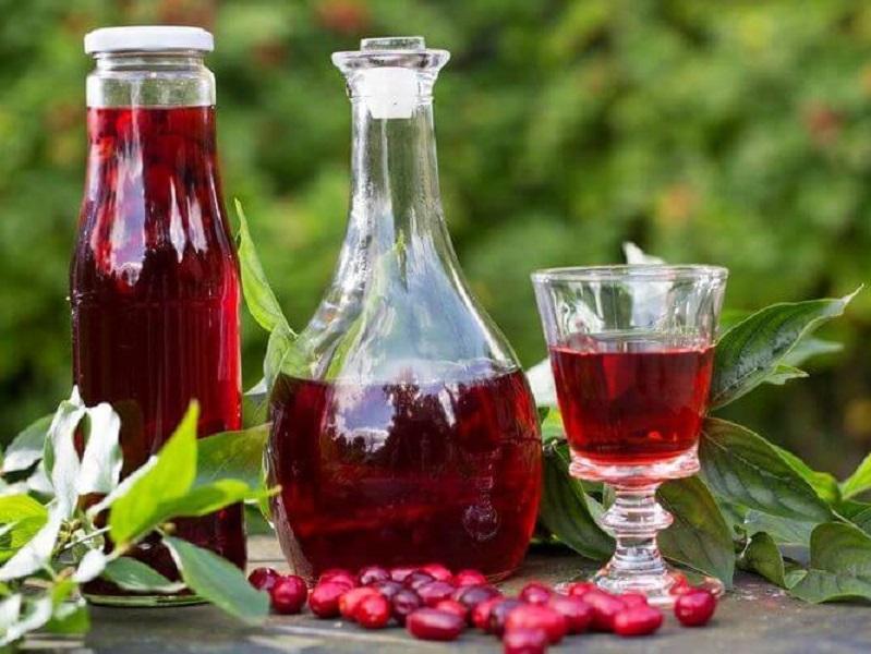 Как готовится вишневая настойка?