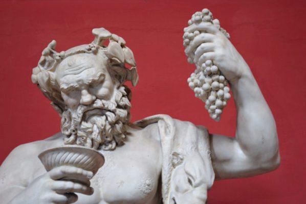 Дионис и виноград