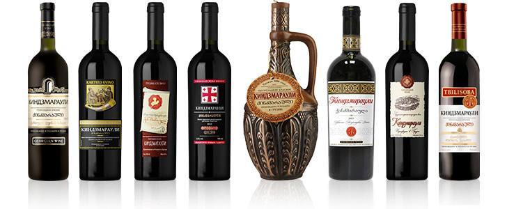 виды вино киндзмраули