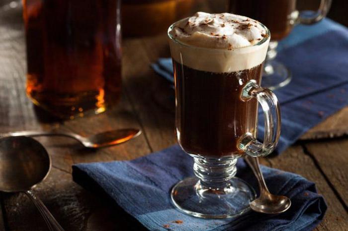 кофе с виски