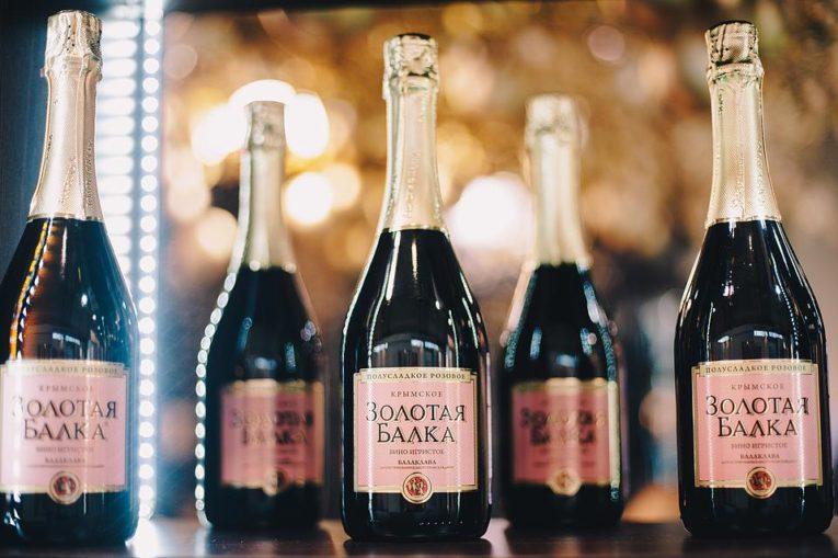 шампанское балка