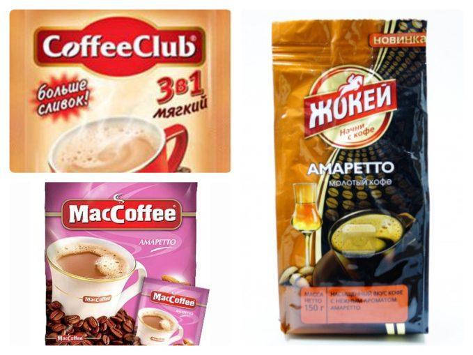 растворимый кофе амаретто