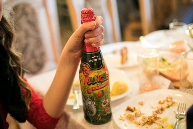 шампанское для детей