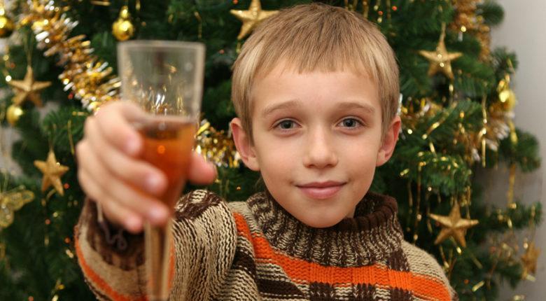 вред детского шампанского